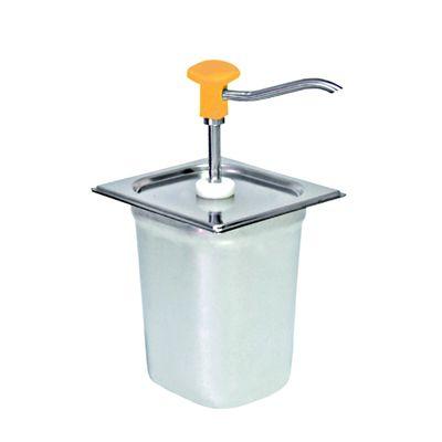 Distributeur doseur GN 1/6, jaune - 3 litres