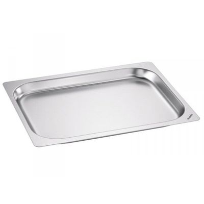 Blanco Edelstahl Gastronorm-Behälter GN 1/2 - 40 mm, Inhalt: 2,3 Liter