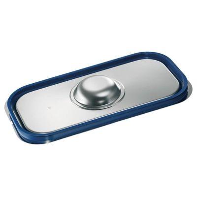 Blanco Edelstahl GN-Deckel GN  1/3 mit Formschlussdichtung für Gastronorm-Behälter mit Bügelgriffen