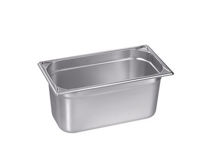 Blanco Edelstahl Gastronorm-Behälter GN 1/3 - 150 mm, Inhalt: 5,5 Liter