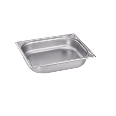 Blanco Edelstahl Gastronorm-Behälter GN 1/2 - 65 mm, Inhalt: 3,8 Liter