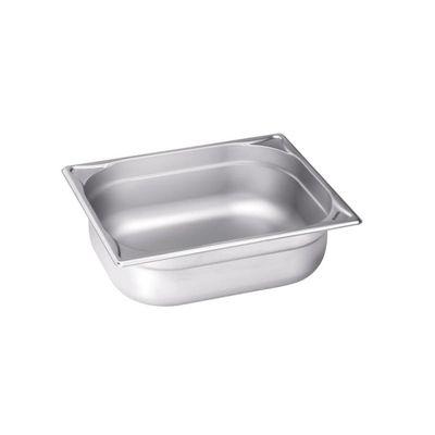Blanco Edelstahl Gastronorm-Behälter GN 1/2 - 100 mm, Inhalt: 6 Liter