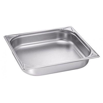 Blanco Edelstahl Gastronorm-Behälter GN 2/3 - 100 mm, Inhalt: 8,5 Liter
