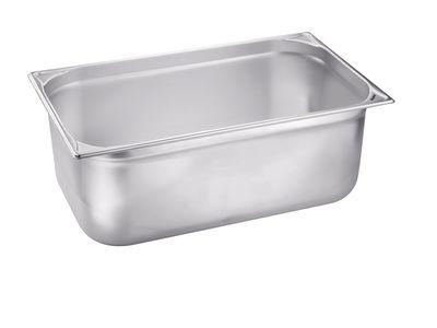 Blanco Edelstahl Gastronorm-Behälter GN 1/1 - 200 mm, Inhalt: 26,5 Liter