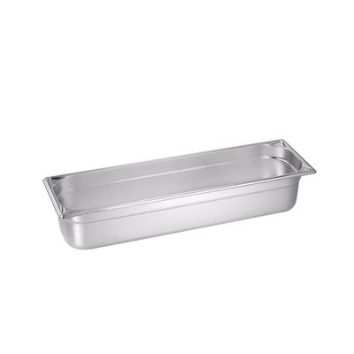 Bac GN Blanco en acier inoxydable GN 2/4-100 - 100mm, capacité: 6litres
