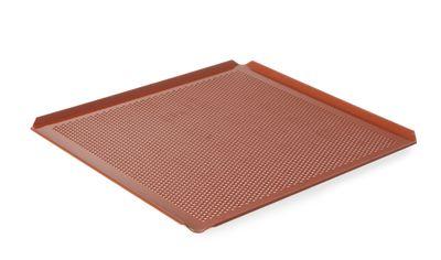 Backblech Aluminium, GN 2/3, 35,4x32,5x1cm, 4 Aufkantungen