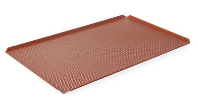 Backblech Aluminium, GN 1/1, 32,5x53x1cm, 4 Aufkantungen