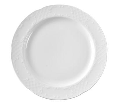 Assiette plate en porcelaine hôtelière série «Flore» 30cm