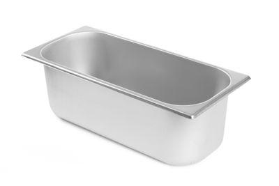Edelstahl Eisbehälter, 360x165x120mm - 5 L