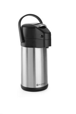 Bouteille isotherme à pompe, isolée, Airpot, 3 litres