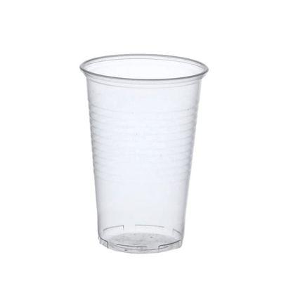 50 gobelets Papstar, PP, 0,5 l, Ø 9,5 cm x hauteur : 13,7 cm transparent avec bord en mousse