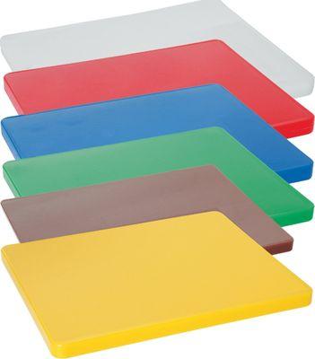 Planche à découper 45 x 30 x 1,3 cm - PEHD blanc