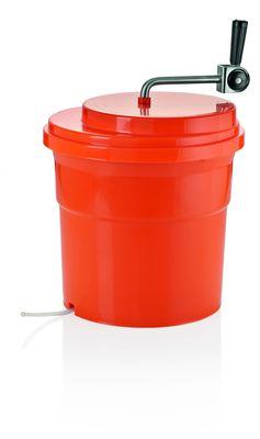 Salatschleuder orange aus Polypropylen 16,5l