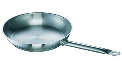 Bratpfanne Chef, Edelstahl, unbeschichtet, 32cm