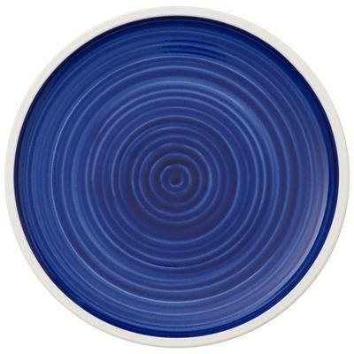 Assiette plate coupe Villeroy & Boch Artesano Atlantic Blue, 240 mm