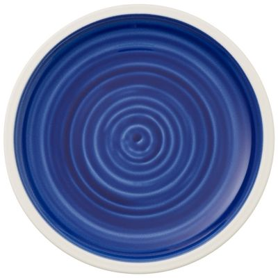 Assiette plate coupe Villeroy & Boch Artesano Atlantic Blue, 160 mm