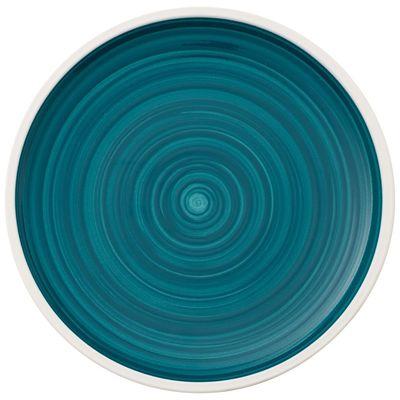 Assiette plate coupe Villeroy & Boch Artesano Pacific Green, 160 mm