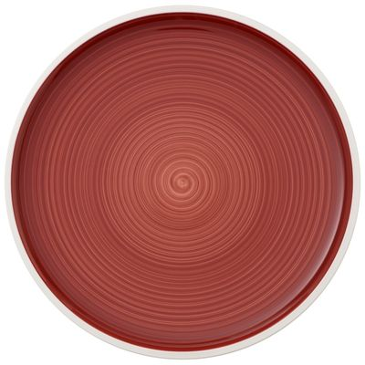 Assiette plate Villeroy & Boch Artesano Red Sea, 270 mm