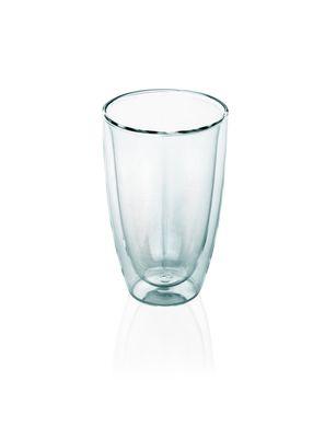 Glas Serie LOUNGE, doppelwandig, Café Latte