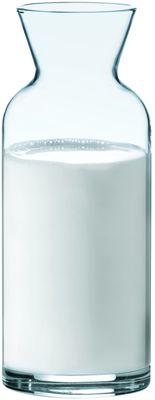 Karaffe aus Glas, mit Füllstrich - 0,5l