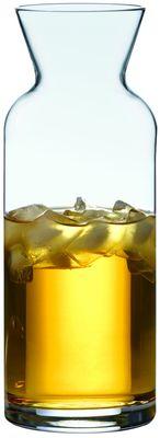 Karaffe aus Glas, mit Füllstrich - 1l
