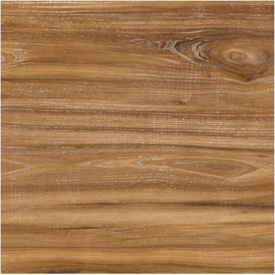 Plateau de table Topalit Classic Washed Elm 800 x 800 mm, brun