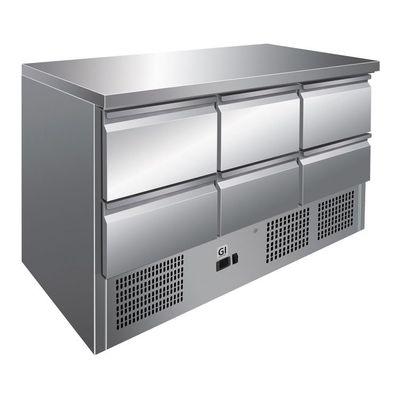 Table réfrigérée Gastro-Inox 0/6 Mini