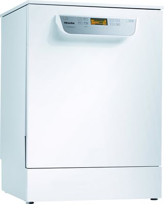 Miele Unterbau-Frischwasser-Spülmaschine PG 8056 U [DOS MK SPEEDplus] mit integrierter Dosierpumpe, Weiß, mit Körben