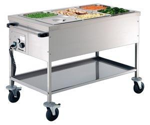 Chariot de service alimentaire Bartscher GN 3 x 1/1