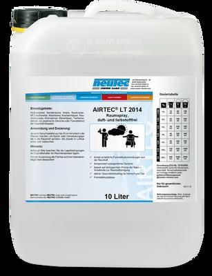 AIRTEC LT 2014 DETOX Plus Raumspray, duft- und farbstofffrei 10L Kanister