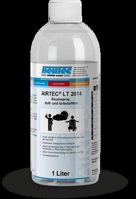 AIRTEC LT 2014 DETOX Plus Raumspray, duft- und farbstofffrei 1L Flasche