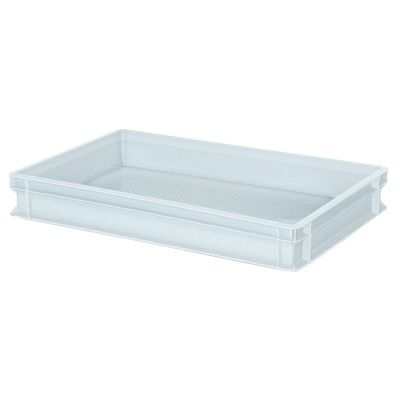 Bac empilable Euro 600x400 mm, blanc - 90 mm