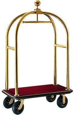 Kofferwagen Profi 110 x 620 x 1900 - Gold Rot
