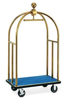 Chariot à bagages ECO 1060 x 630 x 1850 - Bleu or