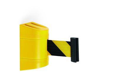 Zuggurt für Wandmontage schwarz/gelb