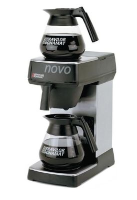 Bravilor Bonamat Kaffeemaschine Novo 1,7L manuell, inklusive 1 Glaskanne
