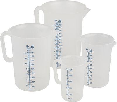APS Messbecher Ø 12 cm, H: 17 cm, 1 Liter