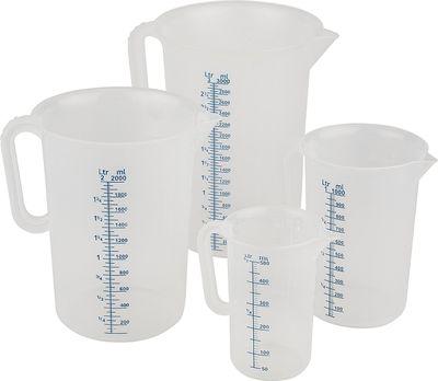 APS Messbecher Ø 9,5 cm, H: 14 cm, 0,5 Liter