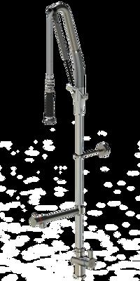 Echtermann Einhebel-Geschirrwaschbrause mit Schwenkauslauf