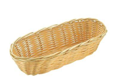 Panier à pain et à fruits APS, ovale, 21 x 10 cm, hauteur : 6 cm