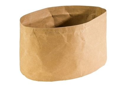 APS Brottasche -PAPERBAG- oval, 30 x 20 cm x H: 18 cm, Beige