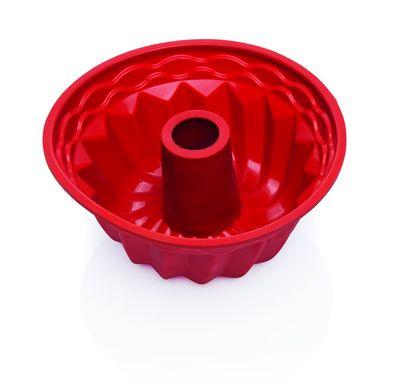 Moule de cuisson en silicone, terracotta, 22 x 11 cm, diamètre 22 cm