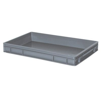 Bac empilable Euro 600x400 mm, gris - 75 mm