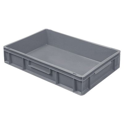 Bac empilable Euro 600x400 mm, gris - 120 mm