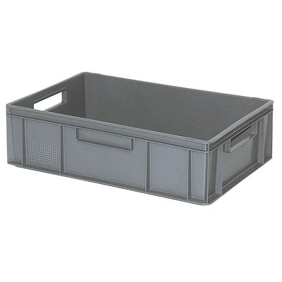 Bac empilable Euro 600x400 mm, gris - 170 mm