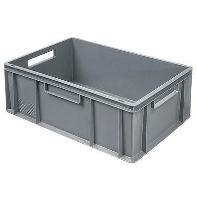 Bac empilable Euro 600x400 mm, gris - 220 mm
