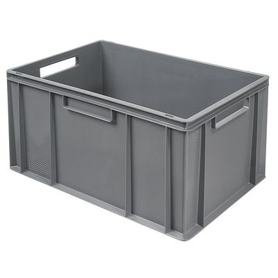 Euro-Stapelbehälter 600x400 mm, grau - 320 mm