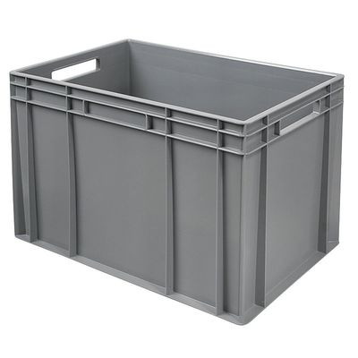 Bac empilable Euro 600x400 mm, gris - 420 mm