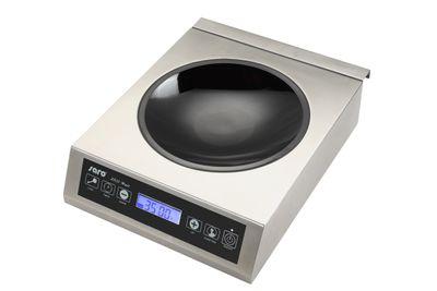 Plaque de cuisson wok à induction Saro LOUISA 3,5kW avec wok