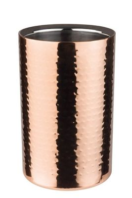 APS Flaschenkühler -COPPER-  Masse: Aussen Ø 12 x H: 20 cm, für 0,7 - 1,5 Liter Flaschen